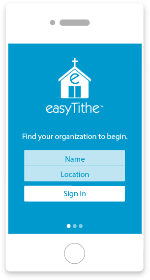 See how easyTithe works in our Online Giving Demo