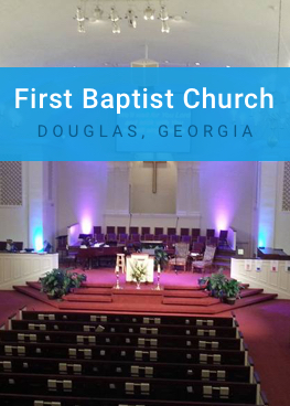 First Baptist Church - Douglas, Georgia, cover